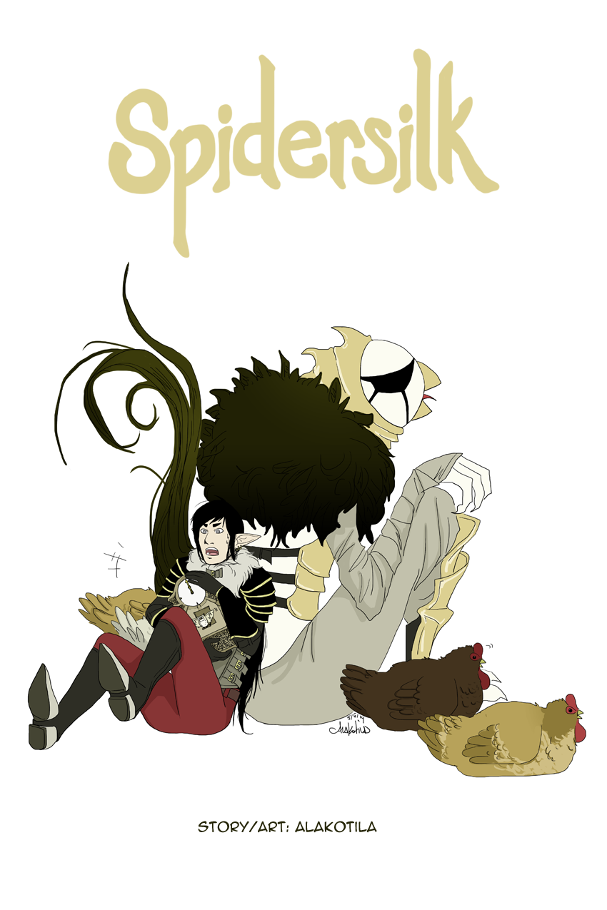 Spidersilk Cover